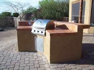 Curved BBQ Grill