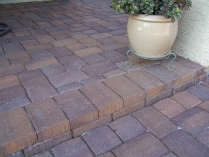 Concrete Paver Step