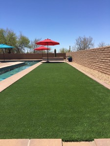 Synthetic Lawn Play Space