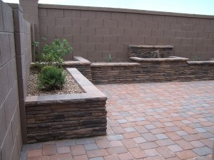 Decorative Raised Planter Bed Walls