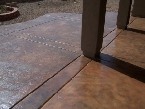 Stamped Concrete Outdoor Floor