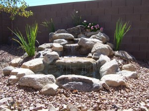 Basalt Water Feature